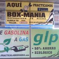 COVIERTE TU COCHE DE GASOLINA A GAS GLP